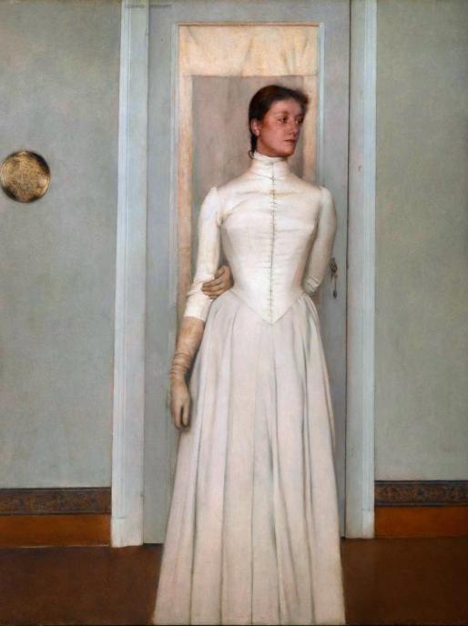 Marguerite Khnopff, by Fernand Khnopff