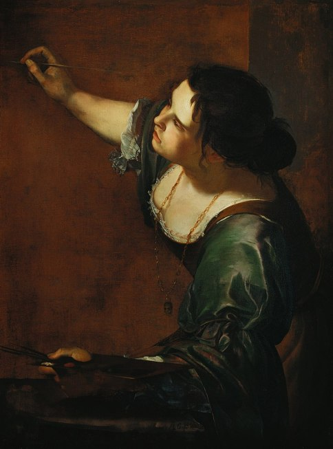 Allégorie de la Peinture, Artemisia Gentileschi, 1638-1639, The Royal Collection, Windsor
