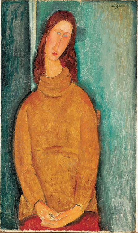 Portrait de Jeanne Hébuterne (1919), Kurashiki, musée d'art Ohara.