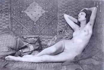 Kiki de Montparnasse, Man Ray, vers 1921