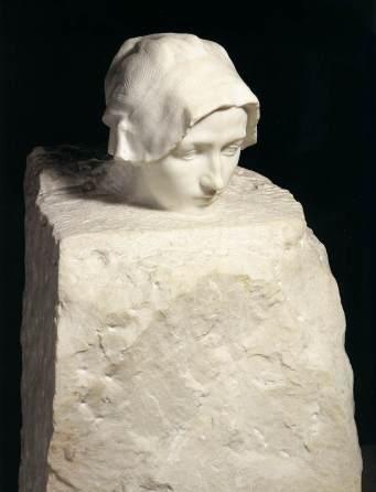 Portrait de Camille Claudel, 1886-89, marbre, Rodin