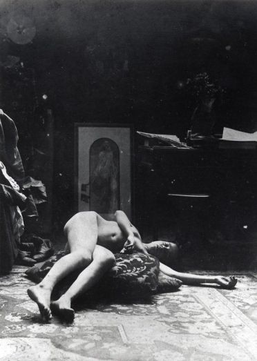 "Model pour ""Médée"", 1898, Alphonse Mucha"