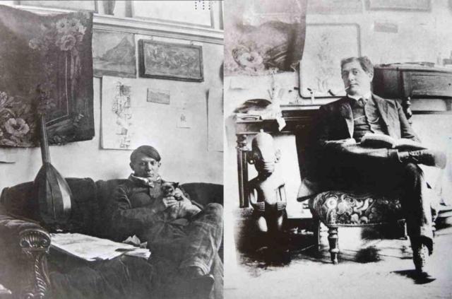 Apollinaire, Picasso, 1910.jpg