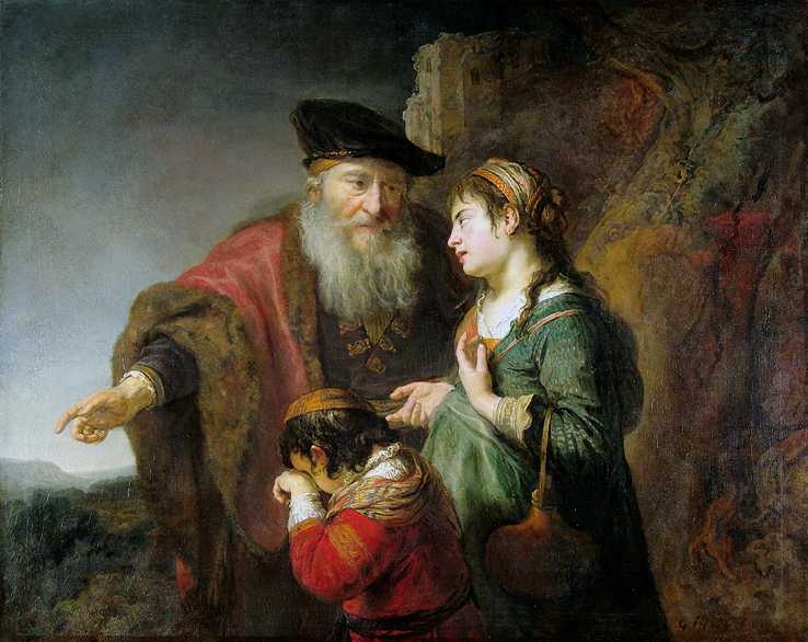 Agar et Ismaël chassés 1640-42 Gemäldegalerie Berlin.jpg