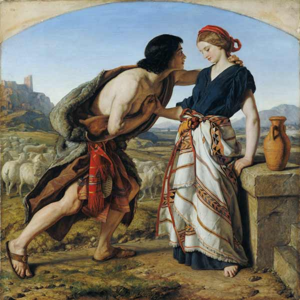 The Meeting of Jacob and Rachel, 1853 William Dyce