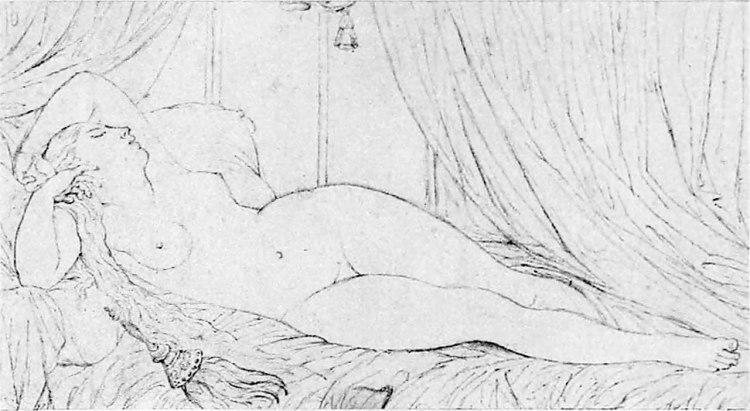 1280px-Ingres_Dessin_femme_nue_couchée