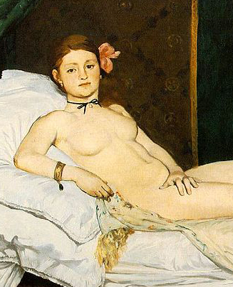 olympia manet détail