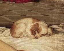 Vénus urbin titien chien